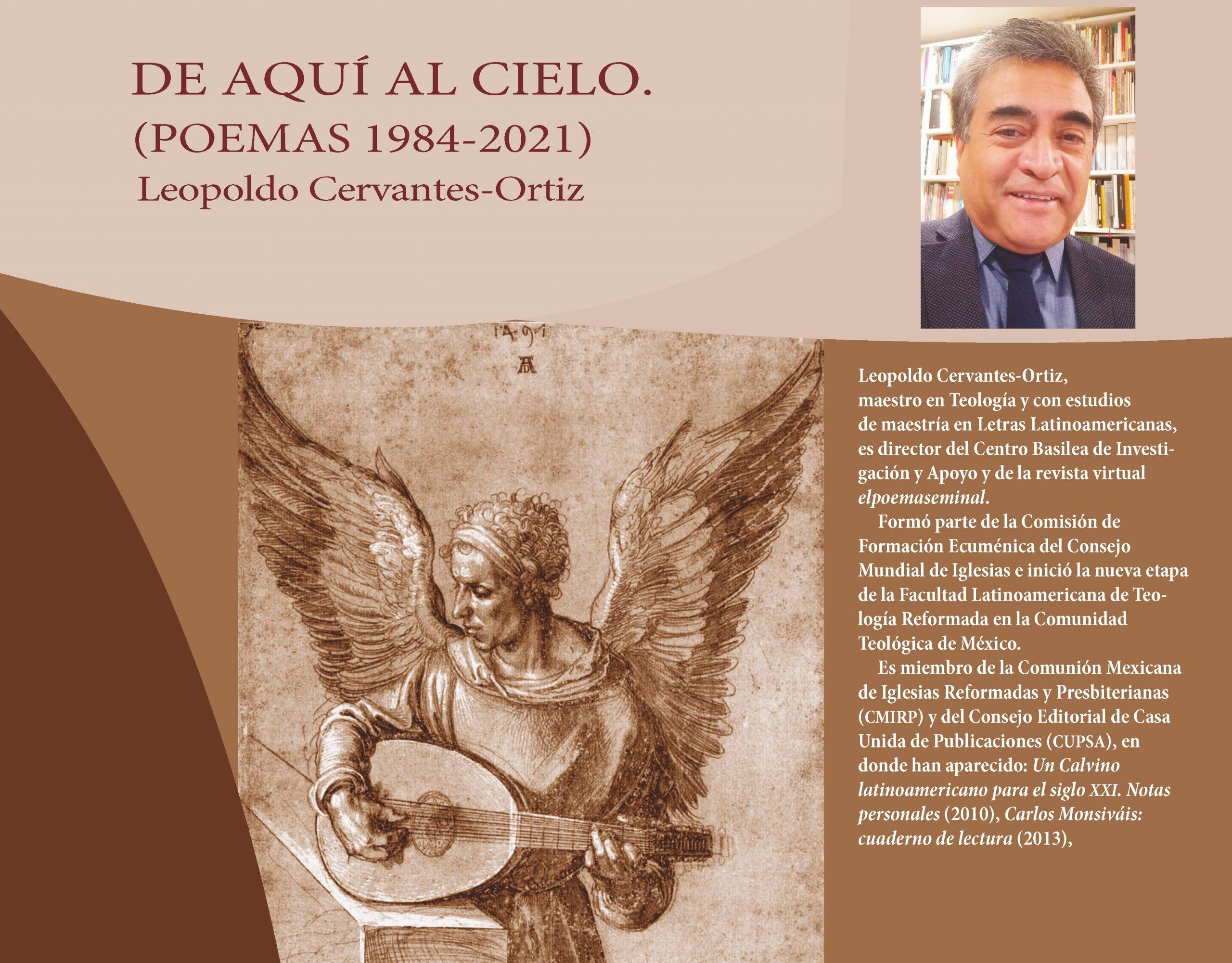 Pórtico para 'De aquí al cielo', de Leopoldo Cervantes-Ortiz