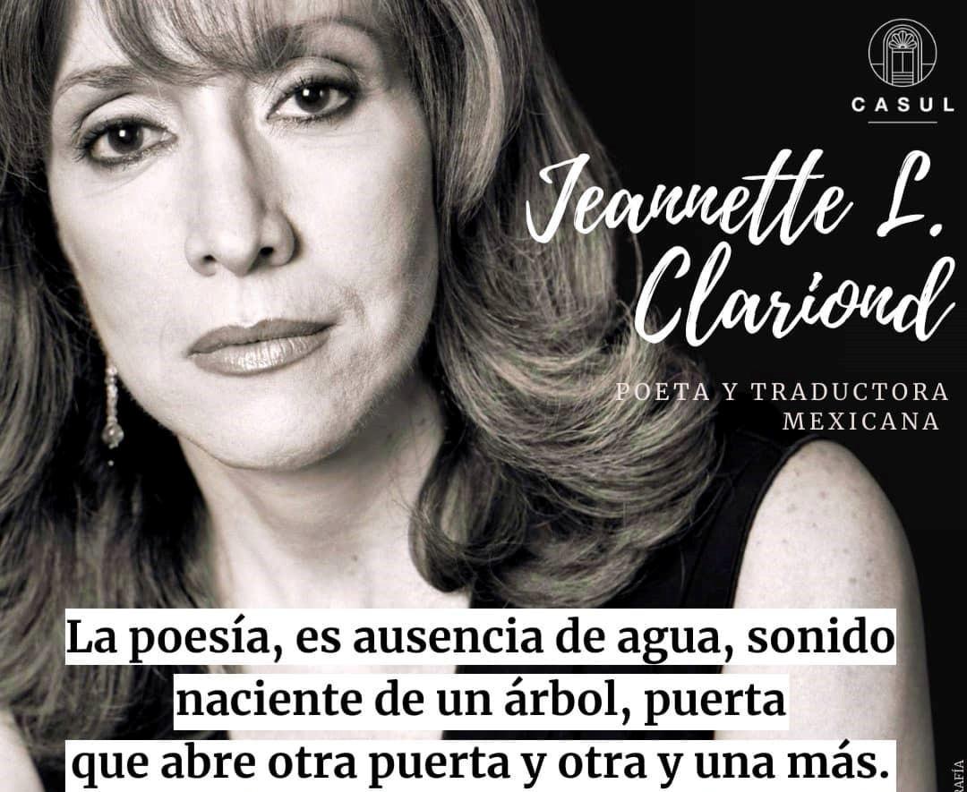 Mesón Juan De Yepes y otros poemas de la mexicana Jeannette L. Clariond